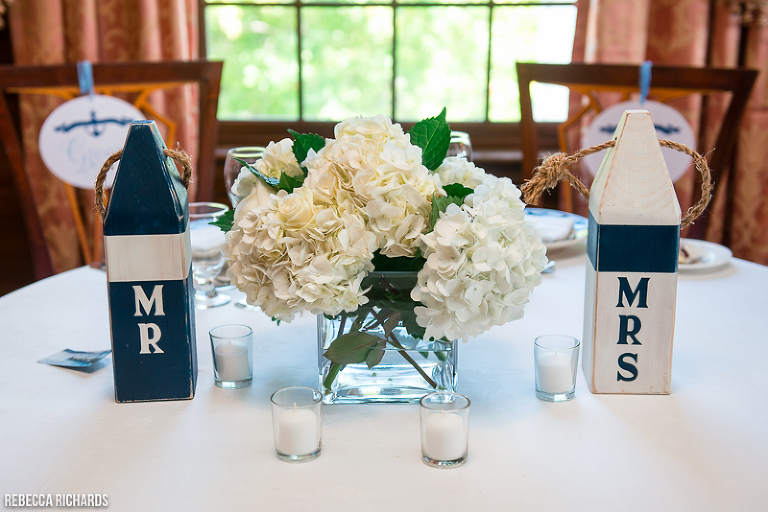 Reclaimed lobster buoy for table numbers   unique wedding idea